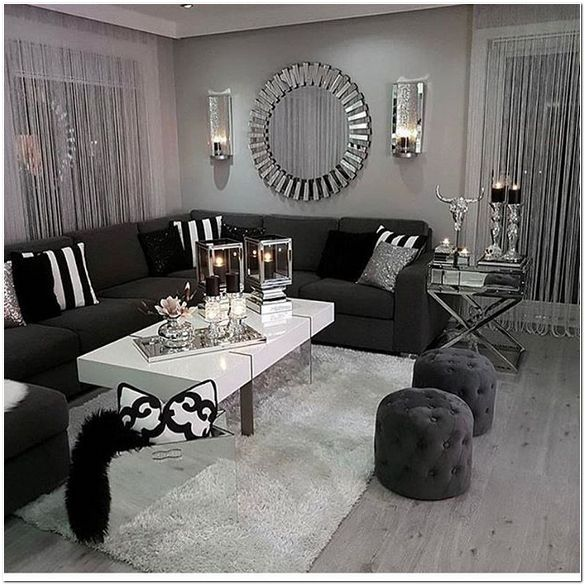 35 Cozy Living Room Ideas And Designs For 2020 In 2020 White Living Room Decor Modern Sofa Living Room Black And White Living Room Decor