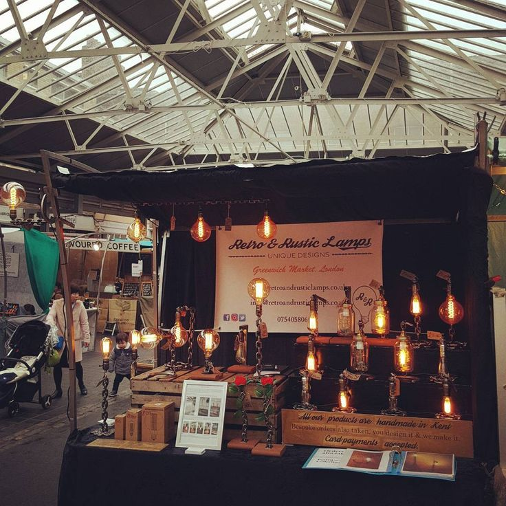 Good to be back at Greenwich Market Open today until 5.30pm  #retroandrusticlamps #lamps #london #Greenwich #greenwichmarket #shopping #mailorder #onlineshopping #orders #website #bespoke #oneofakind #madeinkent #handmade #steel #steampunk #mancave #tablelamps #industriallighting #retrolamps #rusticlamps #edisonbulbs #vintagebulbs #welding #industrial