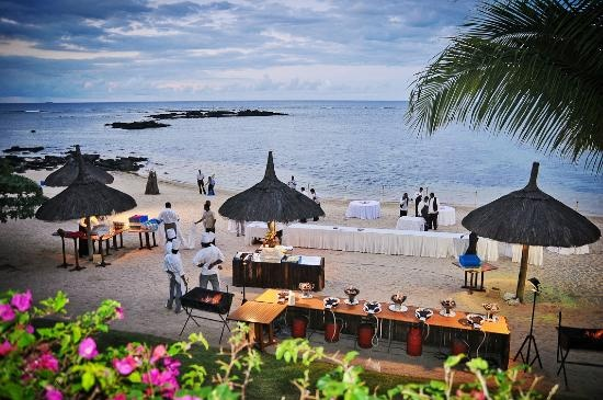 Setting up for the Reception (AussieinEngland1, Jun 2012) -  Dream Wedding in a Stunning Location! - Le Canonnier - Mauritius