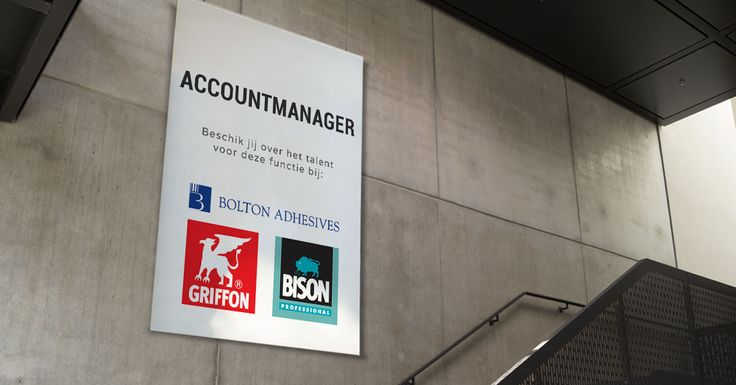 Ga jij als Accountmanager bij Bolton Adhesives het marktaandeel van de merken Bison en Griffon vergroten in Zuidoost-Nederland?  Bekijk de vacature: https://www.wetalent.nl/recruit/vacatures/bolton-adhesives/accountmanager-zuidoost-nederland/273/  #sales #verkoop #vacature #accountmanager #bison #griffon