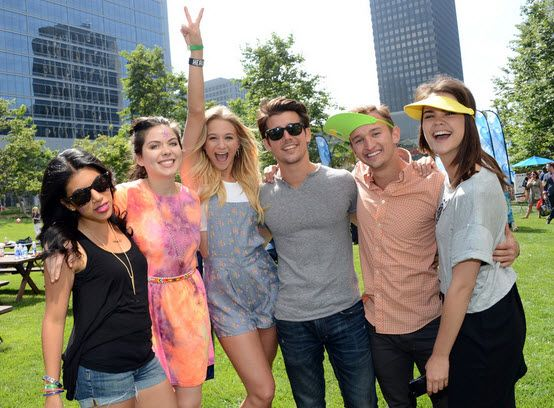 "Amazing ""Teen Beach Movie"" Cast At The 24th Annual ""A Time For Heroes"" Event June 2, 2013"