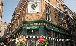 Ye Grapes in Shepherds Market, one of the best pubs EVER!