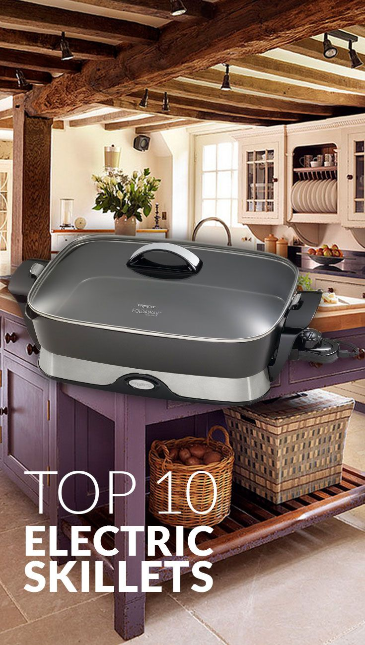 Not enough stove or oven space to make Thanksgiving or Holiday meals? Find the internet's best electric skillets on www.comparaboo.com | @comparaboo