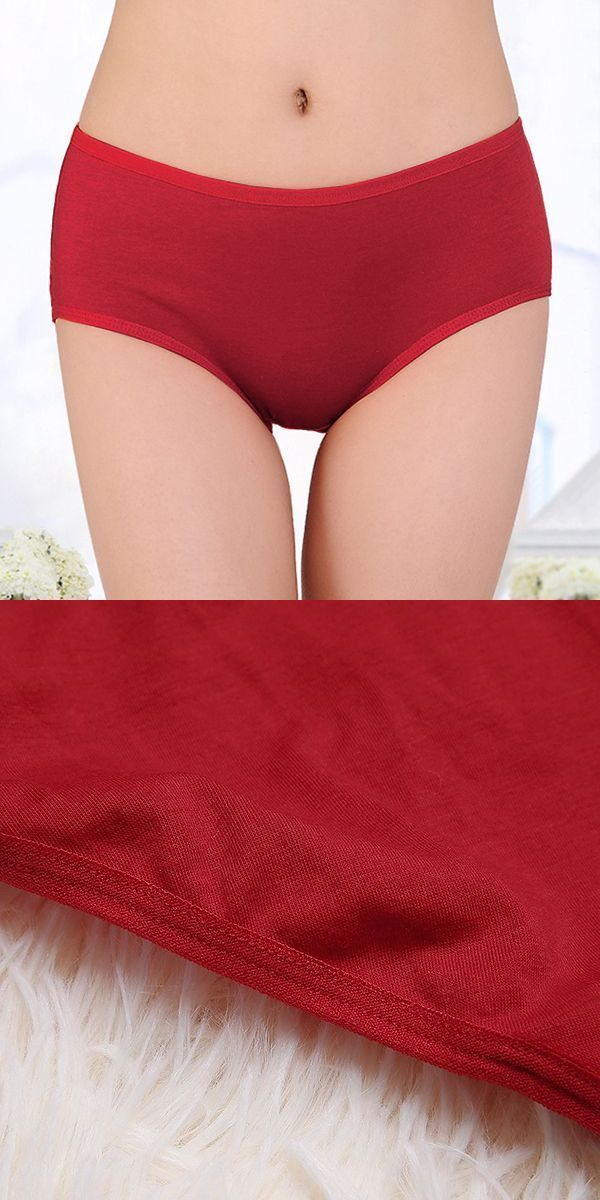 Size 5 panties women comfy cotton pure color mid rise pull hips breathable underwear panties #no #panties #day #june #22 #2016 #no #panties #emoji #panties #quotes #panties #set