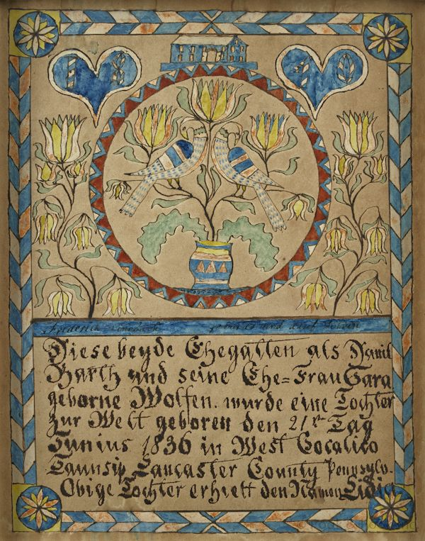 68 best Fraktur images on Pinterest Folk art, Outsider art and - best of good standing certificate pa