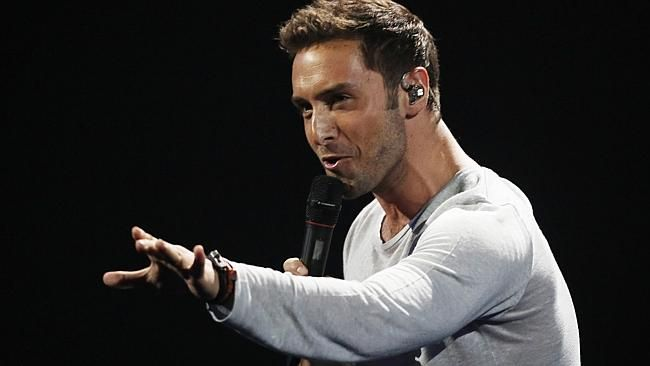 Politically incorrect ... Eurovision winner, Sweden's Mans Zelmerlow, was embroiled in co