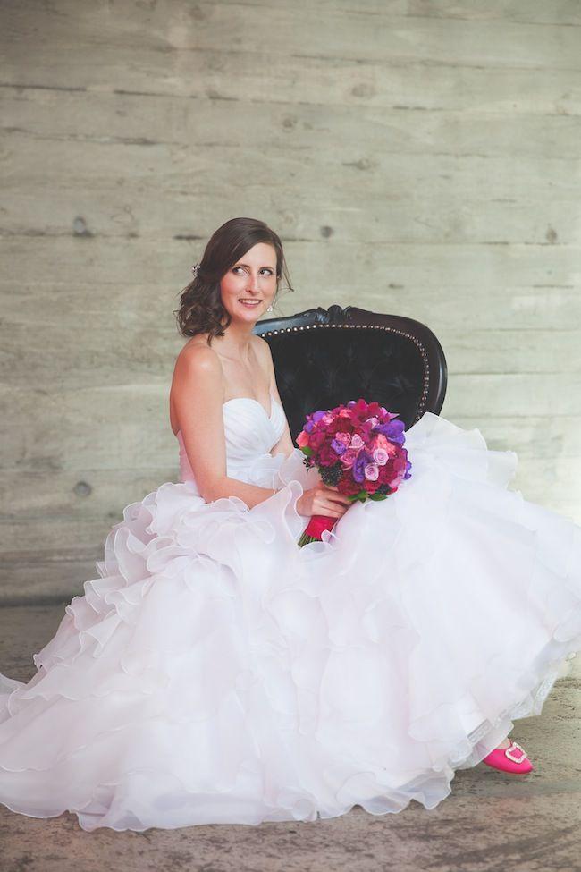 Maddie's wedding dress from Jenny's Bridal - Style 8862