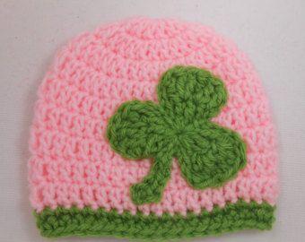 Girls Irish St. Patrick's Day Crochet Hat by HookedOnCrochetKaryn