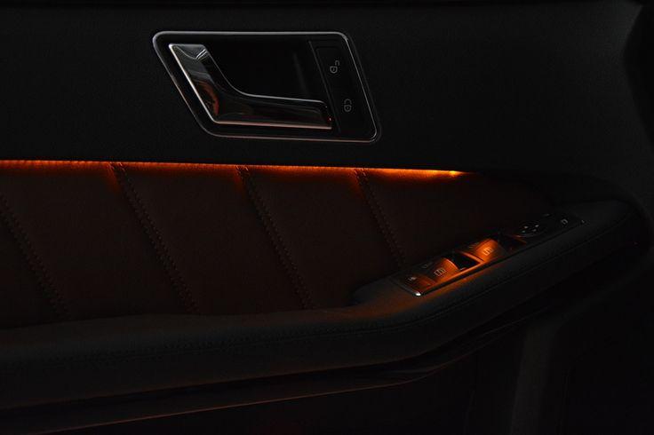 Interior light of a Mercedes-Benz E200