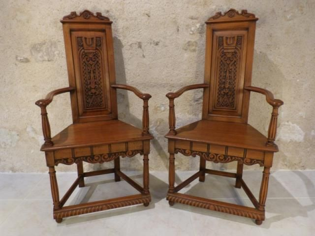 a objets d 39 art vente achat acheter antiquit s vendre paire de caquetoires style renaissance. Black Bedroom Furniture Sets. Home Design Ideas
