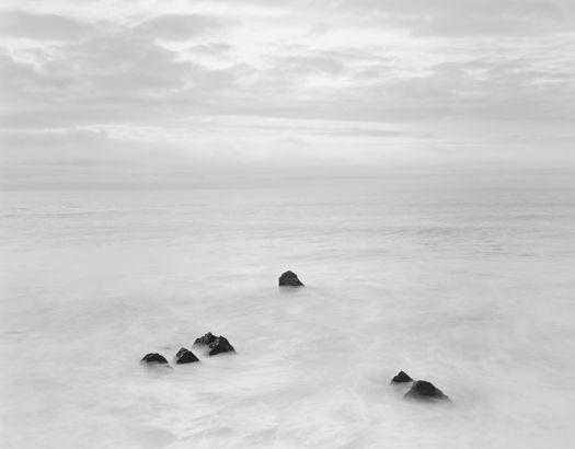 Chip Hooper, Six Rocks, One Bird, Garrapata Beach, 2002