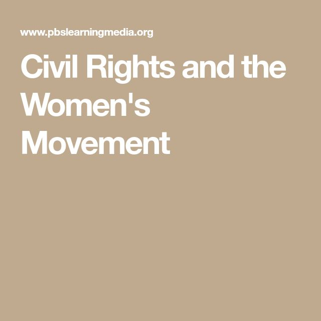 the civil rights movement for the women of brazil The campaign for women's suffrage was a small but growing movement in the decades before the civil war starting in the 1820s, various reform groups proliferated across the us—temperance.