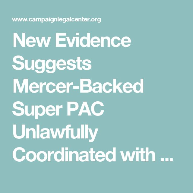 "04/12/17 | Bannon/Trump | New Evidence Suggests Mercer-Backed Super PAC Unlawfully Coordinated with Trump Campaign; Bannon ""Front"" did not Comply with California Law 