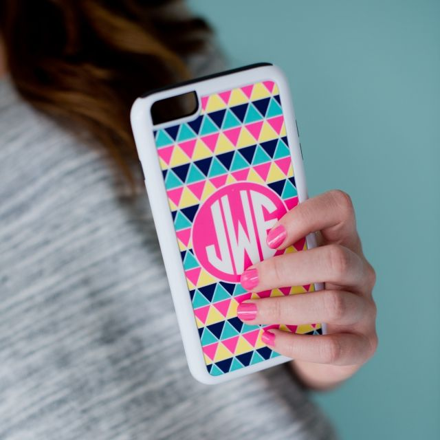 This case is so cute, I need it, with my initials, LOL