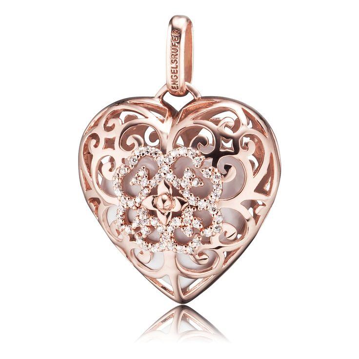Engelsrufer - Heart - Rose Gold Plated
