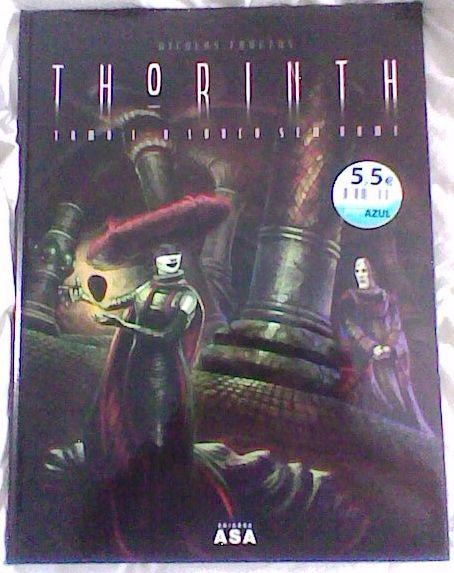 Thorinth - a torre labirinto, capa do livro.