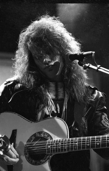 Jon Bon Jovi - B&W pic 1989