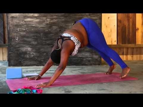 16 min - Free Beginner-Intermediate Yoga Class with Jessamyn Stanley, Everybody Yoga - YouTube