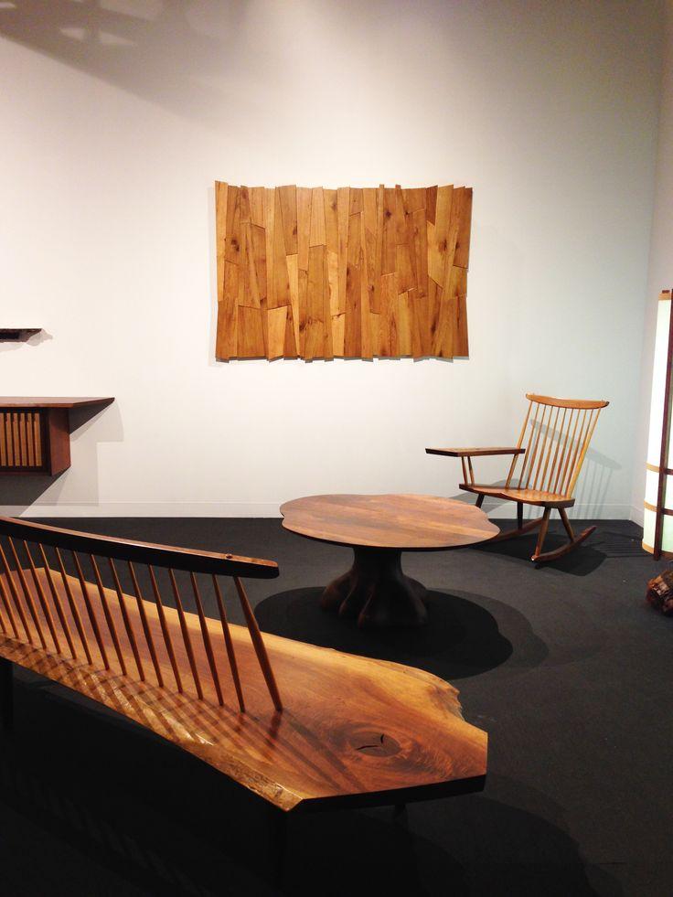 Modern furniture exhibit at Design Miami.