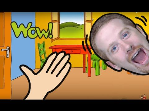 Body Parts for Kids | Steve and Maggie | English for Children
