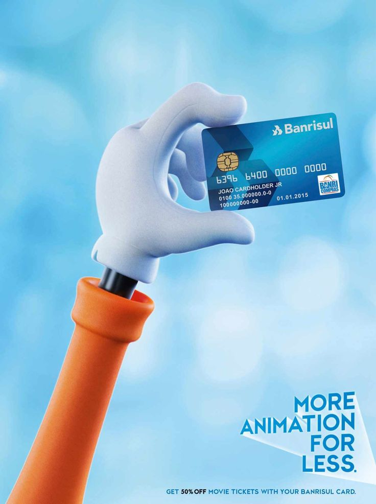 Banrisul Credit Card: Animation | #advertising