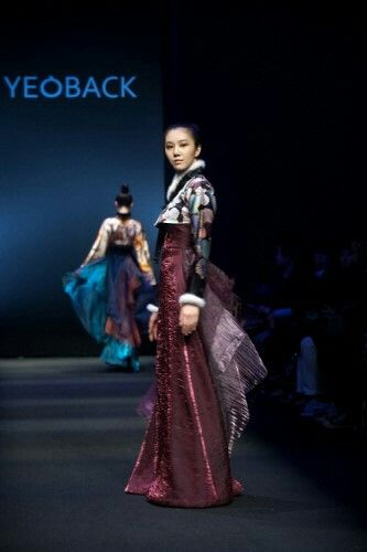 www.yeoback.com Korean Fashion House YEOBACK Fashion Hanbok~♡