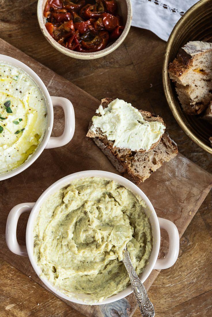 Crema de feta y limón & Crema de alcachofas {para estrenar el fin de semana} | Delicious Stories