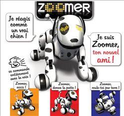 Robot Spinmaster Zoomer dalmatien peluche intéractive - 99,90 € livré - Grand prix du jouet 2013
