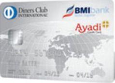 Diners Club card Ayadi   BMI bank Bahrain