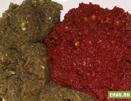 Аджика из перца: рецепт приготовления аджики из перца красного острого - Рецепты на Эхау.Ру