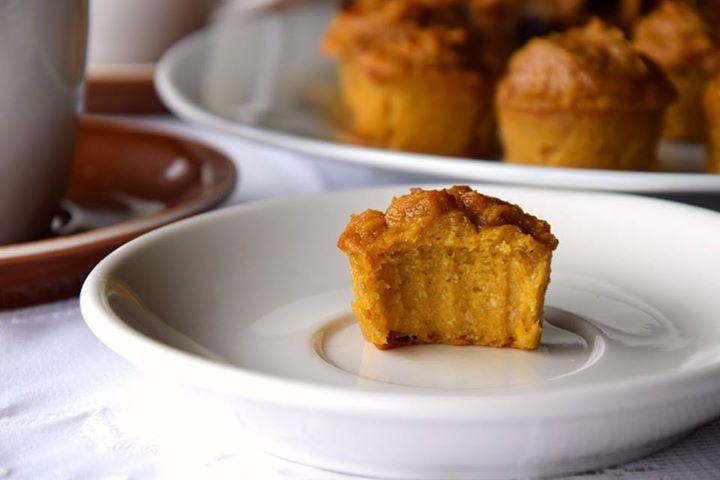 Pumpkin Muffin Pies #Yogini