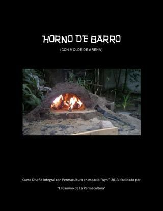 17 mejores ideas sobre horno de le a en pinterest horno - Construccion de un horno de lena ...