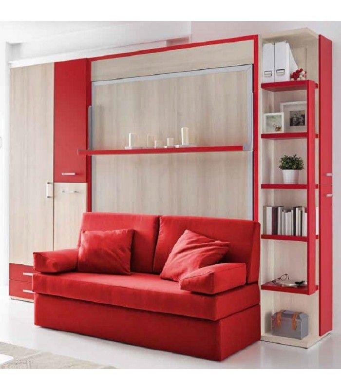 M s de 1000 ideas sobre camas abatibles en pinterest - Camas abatibles clei ...
