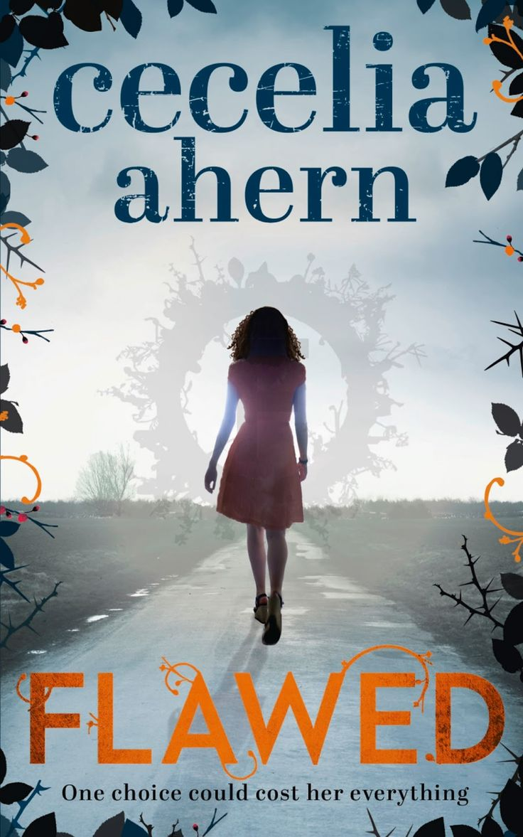 On My Blog, The Book Fairy's Haven: Book Review: Flawed By Cecilia Ahern