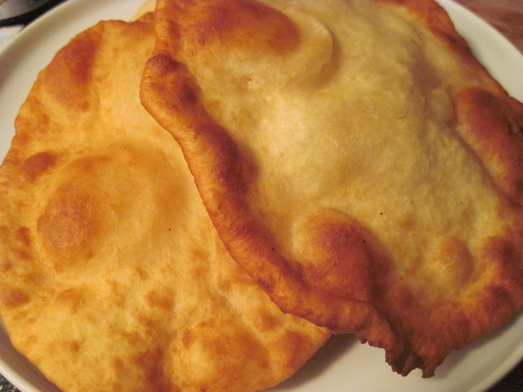 Navajo Fry Bread, use it for a sandwich, toss it in cinnamon sugar or drizzle it with honey, recipe link: http://www.goodfoodgourmet.com/beef/an-adventure-with-navajo-fry-bread/