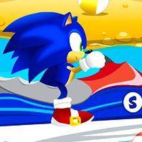 Super Sonic Ski,Racing games,oogames.cc,free online games