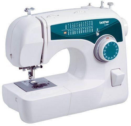 Free-Arm Sewing Machine 25-Stitch Sew Advance Lightweight Home Crafts New White #Brother