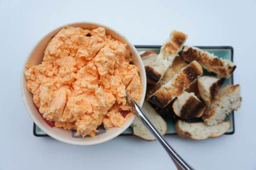 obatzda - German cheese spread great with pretzels