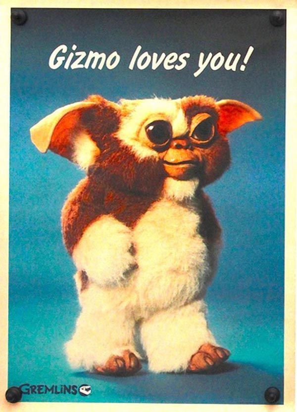 This movie was so scary when I was a kid but now it's a cute and weird movie #childhood From gremlins
