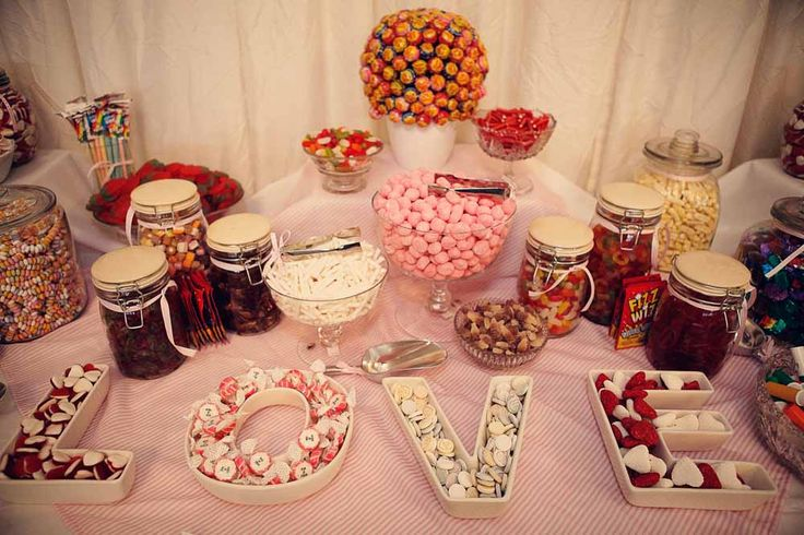 sweetie wedding buffet