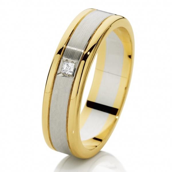 Mens Diamond Wedding Rings Ks044