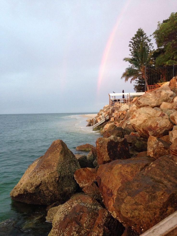 Rainbow on stradbroke island