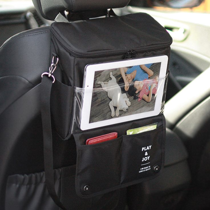 Car Back Seat Organizer with Insulation Food Container Price: CA$ 30.99 & FREE Shipping  #Car