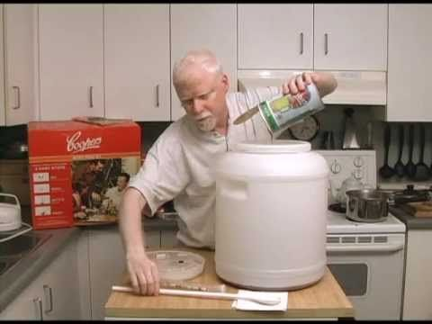 Easy Home Brewing with a Cooper's Micro Brew Kit - YouTube