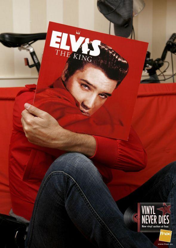 Fnac: Elvis   Ads of the World™