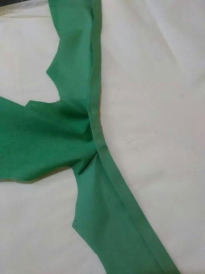 Kebaya sewing step 7