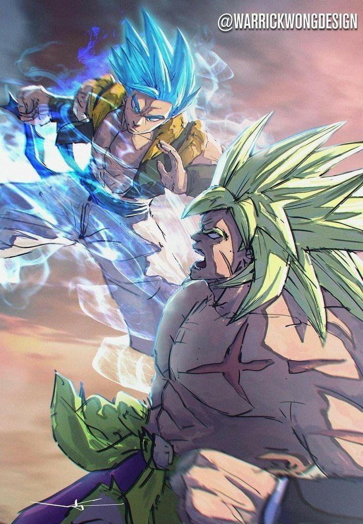 Broly Vs Gogeta Dragon Ball Dragon Ball Dragon Ball Z Dragon