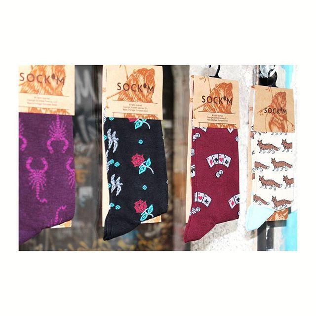 SOCK'M está en OFFBEAT Calcetines de algodón egipcio hechos en Portugal 💛👌💛 Fabricación certificada por normas internacionales en protección del medio ambiente, calidad y salud en el trabajo. #offbeat #barcelona #bcn #raval #shoplocalraval #socks #cotton #egyptian #cotton #cool #nice #graphics #menswear #womenswear #autumn #winter #collection #present #shopping #igers #igersbarcelona #igerscatalunya #picoftheday #instalike #instacool #instafollow #instamood #instahappy #instagood…