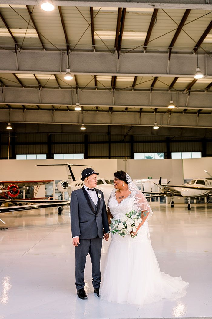 Wish Upon A Wedding Proves With Love Anything Is Possible In 2020 Modern Wedding Reception Hangar Wedding Wedding