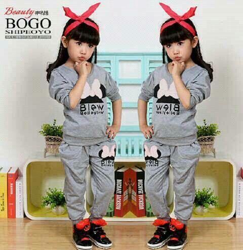 Set Minie Kids || 80.000 || Bahan Spandex Motif Sablon Good_Celana Ada Saku Bagian Depan || Allsize 3_4th atasan: ld74 pj39 bawahan: lp74 pj57 || PK
